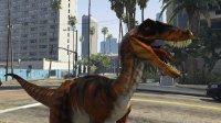 亚当熊 GTA5:恐龙携手猩猩大闹洛城&军事基地