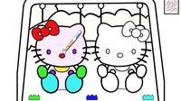kitty猫系列游戏之给凯蒂猫上色小主公解说