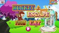 密室逃脱系列游戏之小猴逃脱小猫的抓捕小主公解说