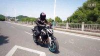 骑士网拍摄2016版春风650NK测评花絮+骑行视频_摸摸爱摩托