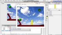 flash教程flash小球运动实例教程,91好看,商业动画教程
