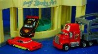 赛车总动员 麦昆和雷蒙变色 迪士尼 玩具 汽车总动员