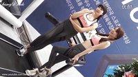 运动器械展紧身运动模特4