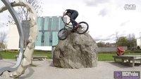 【與一塊巖石過不去】Ali Clarkson在公園的岩石上街頭攀爬 Vlog2- ROCKYvideo