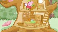 粉红猪小妹系列游戏之小小猪的树屋小主公解说
