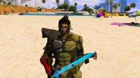 亚当熊 GTA5:合金装备山姆大叔狮吼功&塞尔达之剑