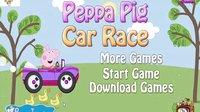 粉红猪小妹系列游戏之粉红小猪开汽车小主公解说