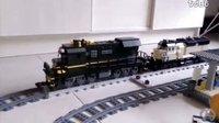 【乐高】火车视频(2)——含有车厢视角,机车视角,全新场景