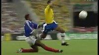 经典回顾;98年世界杯决赛 法国VS巴西【珍藏版】