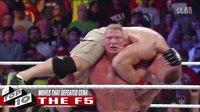 WWE 约翰赛纳被大布击败 ,TOP10