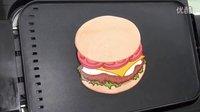 煎饼艺术之汉堡