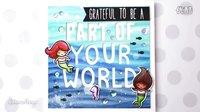 【卡片制作】萌派美人鱼The Little Mermaid&quot_ Card
