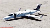 [FSX]庞巴迪LearJet-45五边飞行教学