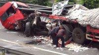 生活中肆意的掠夺生命的车祸行车记录仪惊心记录