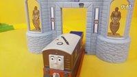 【托马斯和他的朋友们】 托比城堡探险寻宝套装 轨道大师