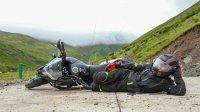 【摸摸骑行记录】本田CB500X雅克夏雪山原地倒车_摸摸爱摩托