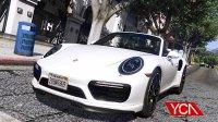 亚当熊 GTA5:保时捷911turboS&沙滩豪宅