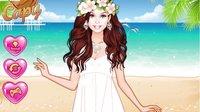 芭比娃娃系列游戏之芭比的海滨婚礼小主公解说
