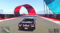 亚当熊 GTA5线上联机EP11熊哥回来玩特技赛道