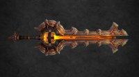 魔兽世界7.0军团再临武器战士神器技能-灭战者
