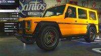 亚当熊 GTA5线上联机EP19迪布达SUV游戏中的奔驰G系列