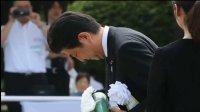 长崎纪念核爆71周年 安倍晋三向纪念碑献花 - 导向新闻