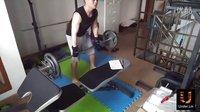 背阔肌锻炼引体向上杠铃哑铃划船20160407宅男健身Under.Lin第二期