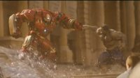 钢铁侠(反浩克装甲)大战绿巨人 小罗伯特唐尼vs马克·鲁法洛