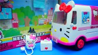 Hello Kitty 凯蒂猫 医疗救护车 迪士尼 玩具 海绵宝宝