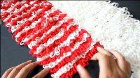 萝卜丝围巾的织法男士女士儿童简单围巾花样编织视频