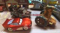 【玩具侠】迪士尼眼睛可以动会讲话的回力版汽车总动员赛车总动员cars