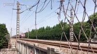 T101次 HXD1D0116 通过沪昆线K145KM庆仲路公铁立交桥