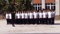 安仁镇中学班级队列表演