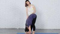 1-加强脊柱前屈伸展式