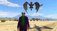 亚当熊 GTA5:小丑携手龙族大闹洛圣都市