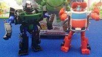 变形金刚之机甲英雄动画片战场霸王隔板汽车玩具