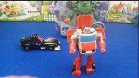 变形金刚之机甲英雄动画片领袖之证中的救护车玩具兰博基尼禁闭玩具