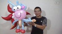 028水晶气球 气球造型小猴子