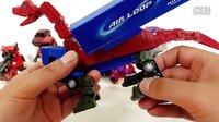 汽车人 我的世界擎天柱 婴幼玩具 变形金刚装配 儿歌  新系列玩具变形警车珀利 [迷你特工队之英雄的变形金刚] 我的世界赛尔号