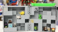 我的世界 Minecraft 10只人仔 洞穴玩具便携箱
