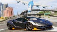 亚当熊 GTA5:兰博基尼Centenario&游艇派对&圆筒赛道