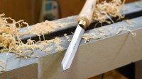 【愚拙手工】木旋基础视频 如何使用切断刀