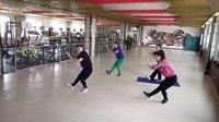 20160922开心快乐舞蹈队在金博表演蒙古族舞