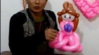 水晶气球  魔术气球造型--新娘全部 气球视频 气球 魔术气球教程 魔术气球 气球教程 气球拱门 气球花 气球魔术教程 气球造型教程 气球装饰 经典街卖造型 气