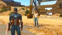 亚当熊 GTA5:X战警携手复联创立抗僵尸基地