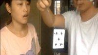 世界经典易学魔术秘术揭秘教学集锦(3)【项链穿扑克】