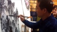 书画艺术---山水画家周宝全教你怎样泼墨添彩
