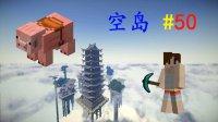 明月庄主★我的世界1.10师徒空岛生存EP50猪飞之时Minecraft
