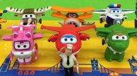 超级飞侠第二季变形机器人玩具拆封视频