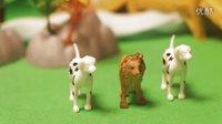 小狮子和猎狗  亲子教育讲故事 小孩幼儿讲故事 小故事大道理-3【乐成宝贝】